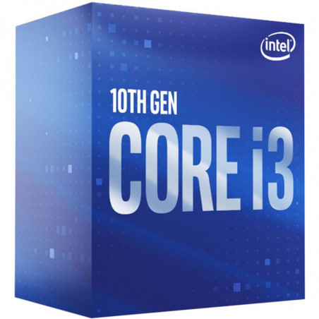 Procesador Intel® Core™ i3-10100F 4-Core 3.6 GHz (6M Cache  up to 4.30 GHz) LGA1200 Sin Gráficos