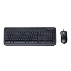 Kit Teclado y Mouse Microsoft Wired 600 Negro con Cable USB