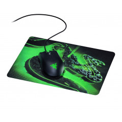 Mouse Gamer Razer Abyssus Lite + Mouse Pad Gamer Goliathus Construct Edition, 6400 DPI, 27 x 21,5 x 0.15 cm