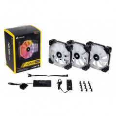 Corsair High Performance RGB LED 120mm 3 Fans with
