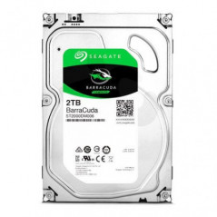 "Disco Duro 2TB 3.5"" Seagate Barracuda 5400 rpm  SATA 3 (6.0 Gb/s)  64MB"