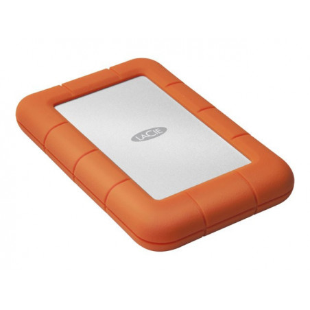 Disco Portatil LaCie 2TB Rugged Mini Portable  USB 3.0 (3.1 Gen 1) Type-A