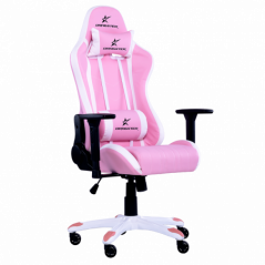Silla Gamer Porfesional Dragster GT400 Pink Edition  Reposabrazos 3D