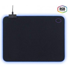 MousePad Gamer Cooler Master MP750-M  Tamaño M  Extra-Thick RGB Borders  soft mouse pad