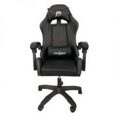 SILLA PANTHER GAMER RECLINABLE BLACK SOLIDO  RAINBOW RGB
